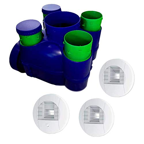 Kit VMC simple flujo higrorregulable – HYGRO ECONAME –