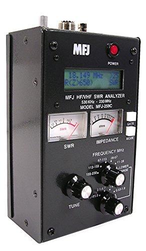 SWR Antenna Analyzer MFJ-259C HF VHF 0.53-230Mhz. Buy it now for 344.98