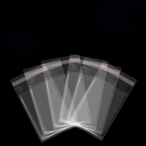 Bolsas de Celofán Transparentes, Yosemy 300PCS 7 * 10cm Bol