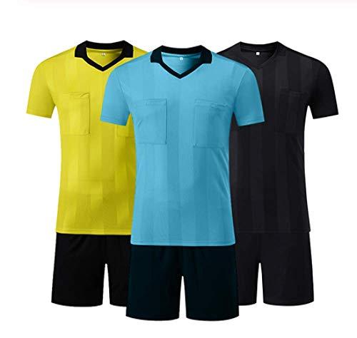 XIAOL voetbal scheidsrechter truien scheidsrechter shirt sets multi-kleur optioneel V-hals voetbal rechter uniformen