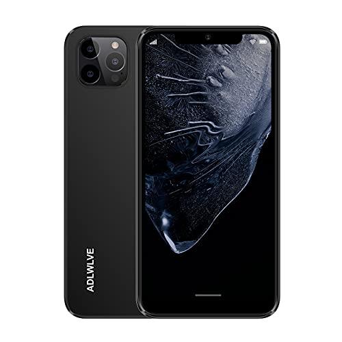 Moviles Libres Baratos 4G(2021), 3GB RAM+32GB ROM Android 9.0 Smartphone Libre, Pantalla 6,3 Pulgadas, 4350mAh Dual SIM Smartphone Teléfono,8MP+ 5MP, Face ID, Móviles y Smartphones Libres (Negro)