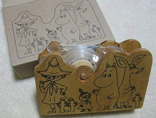 ムーミン リトルミイ スナフキン 木製 テープカッター