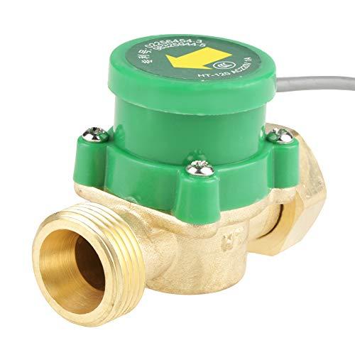 SALUTUY Interruptor de Bomba de Agua, Duradero, Ligero, Resistente a la Temperatura, Rosca G3 / 4'-3/4', Interruptor de Flujo de Bomba Completamente Cerrado para Bomba de Agua