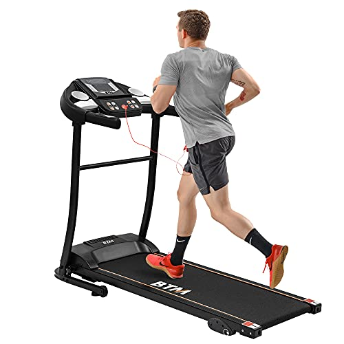 Electric Treadmill Folding Motorized Runing Jogging Walking Machine for Home use