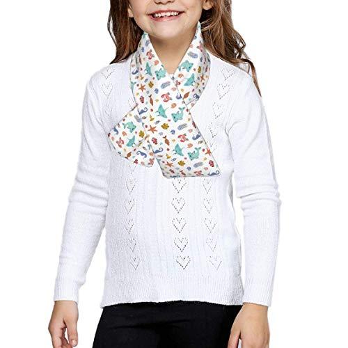 Fleece-Schal für Jungen und Mädchen, warm, Winter, Herbst, Kinder, Halsband,...