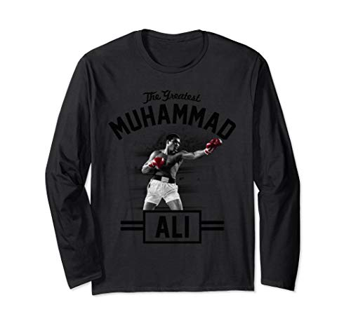 Muhammad Ali standing tall boxing Long Sleeve T-shirt