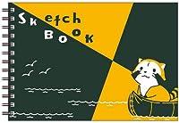 『ラスカル』 図案スケッチブック カヌー