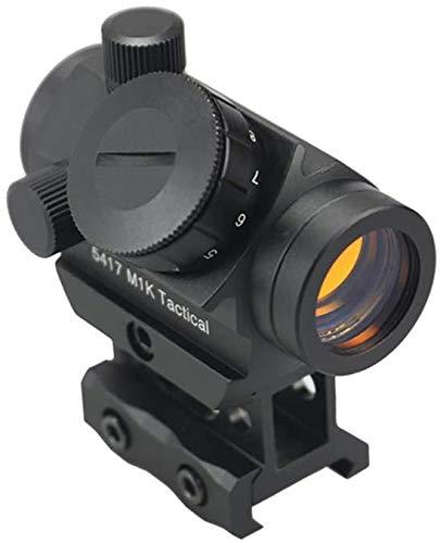 Sahoo Viseur Point Rouge Fusil Portée Reflex Optique Tactique pour Rail de Weaver/Picatinny 20mm Airsoft pour la Chasse