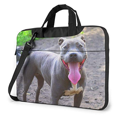 Pitbull Laptop Case Bag Shoulder Bag 15.6 Inch Messenger Carrying Briefcase Handbag Sleeve
