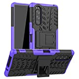 LFDZ Compatible with Sony Xperia 5 Case,Heavy Duty Tough