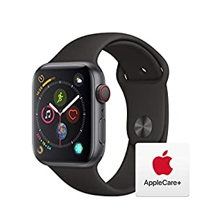 AppleWatch Series4 (GPS+Cellular, 44mm) - Space Gray Aluminum Case with Black Sport Band with AppleCare+ Bundle (B07RMBHQMK) | Amazon price tracker / tracking, Amazon price history charts, Amazon price watches, Amazon price drop alerts
