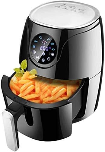 Fryer Air Fryer Double-Layer Separation Fries Kitchen Home Multi-Person Dinner Baking & Broiling 1500W Air Cooker W/LED Touch Screen Non-Stick Frying Pot Best Gift
