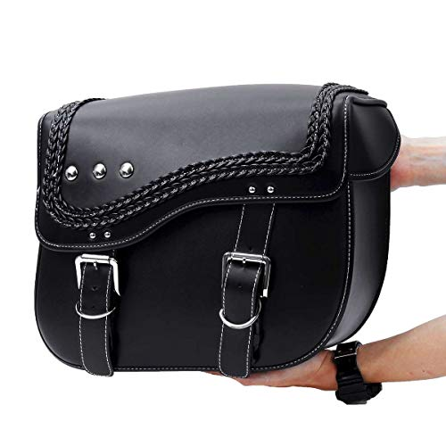 TYUZH-saddle bags motorcycles Motorcycle Waterproof Saddlebag, Side Luggage Bag, Tool Pannier Saddle Bag, Replacement For,durable