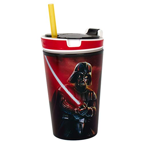 SNACKY MAGIC 1710 Star Wars Snack Cup, Red