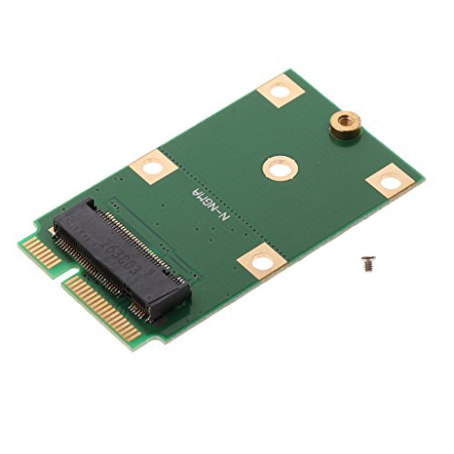 B Blesiya Interfaz M.2 NGFF SSD a MSATA Convertir SSD Convertidor Adaptador Tarjeta PCB Panel Placa de Circuito Convertidor HDD Convertidor SSD Tarjeta