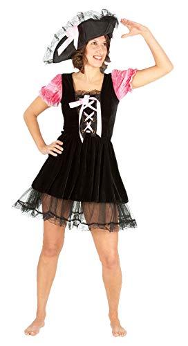 FashioN HuB Disfraz de Halloween para adultos, disfraz de pirata caribeo, talla nica