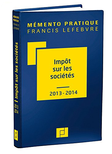 Mémento Impôt sur les sociétés 2013/2014