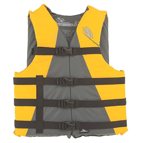 Stearns Adult Watersport Classic Series Life Vest, Yellow