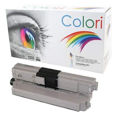ABC kompatibler Toner als Ersatz für Oki 46508712 Black für Oki C332 C332DN MC363 MC363DN MC363N