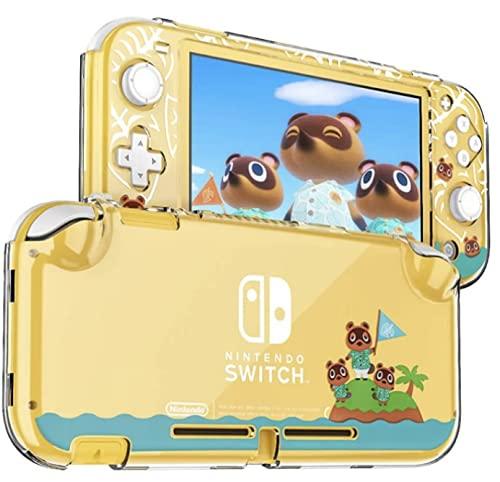 CEDER - Funda protectora para Nintendo Switch Lite PC Funda rígida transparente a prueba de golpes para Animal Crossing