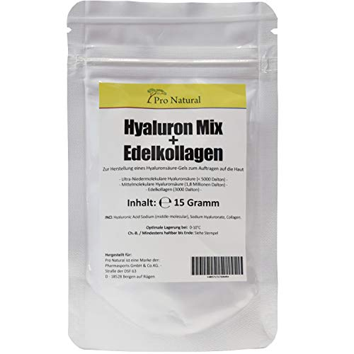 Hyaluron Säure Kollagen Pulver 15 Gramm