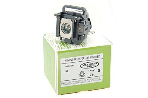 Alda PQ-Premium, Lampada proiettore per EPSON EB-1830, EB-1900, EB-1910, EB-1913, EB-1915, EB-1920W, EB-1925W, POWERLITE 1925W Proiettori, lampada con modulo
