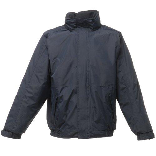 Regatta - Chaqueta/Abrigo/Cazadora impermeable cortavientos Modelo Dover Hombre caballero (4XL/Azul marino/Azul marino)