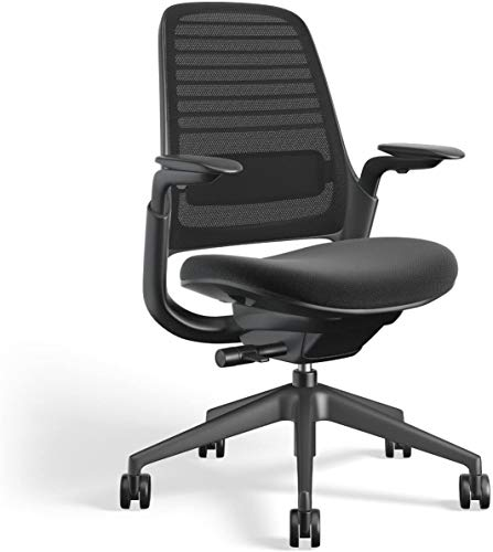 Steelcase Series 1 Work Office Chair, Licorice
