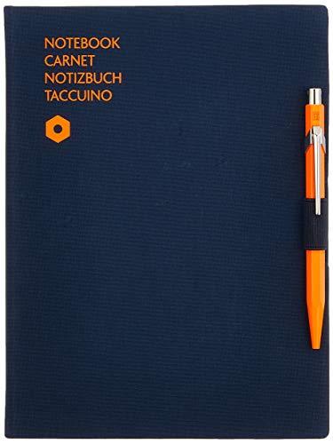 Caran d-Ache 8491.404 - Cuaderno (Adulto, 192 hojas, Azul, A5, Tapa dura, Mate)