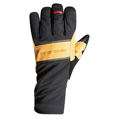 PEARL IZUMI AmFIB Gel Handschuhe Herren Black/Dark tan Handschuhgröße XXL 2020 Fahrradhandschuhe