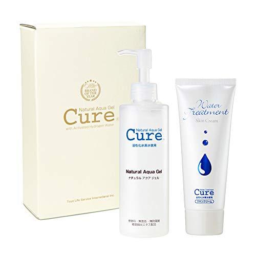 Cure Duo I Contains: Cure Natural Aqua Gel Exfoliator & Cure Water Treatment Skin Cream