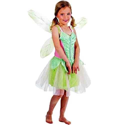 Disfraz de hada campanita infantil campana trilly talla s 2/3 años tinker bell