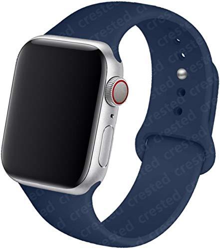 Correa de silicona para Apple Watch band 44 mm 40 mm 38 mm 42 mm Pulsera de goma Pulsera de cinturón deportivo