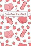 Calendario Menstrual: Ciclo Menstrual con Calendario para Registrar los Síntomas del Síndrome Premenstrual y los Tratamientos, Calendario Menstrual, Rastreador de la Menstruación para Niñas