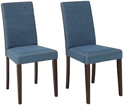 LifeStyleDesign Chaise, Denim, Bleu