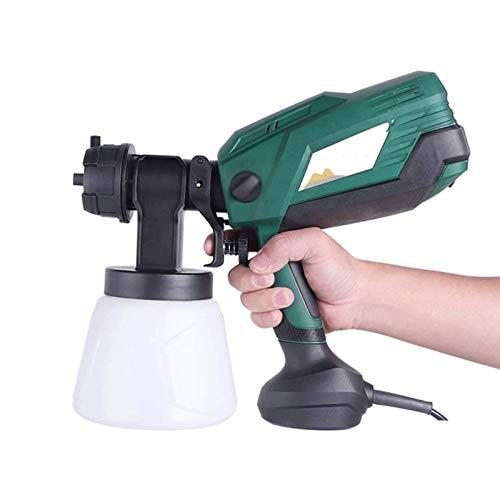 Sdesign Pulverizador de pintura eléctrica Sistema de pistola de pulverización 600W, peso...