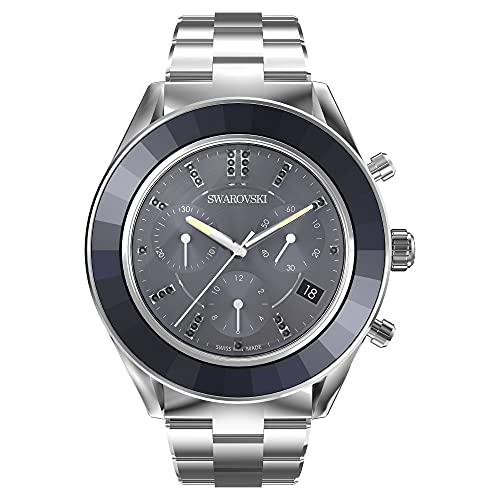 Swarovski Octea Lux Sport Uhr, Metallarmband, Blau, Edelstahl