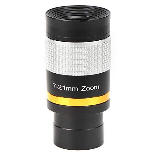 Bindpo Zoom Eyepiece for Telescope, Versatile 1.25inch 7-21mm Zoom Eyepiece...