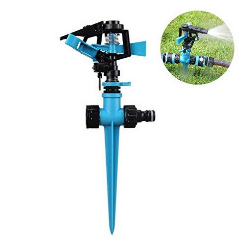 Arroseur irrigateur pulv/érisateur compact 8 arrosages arroser irriguer jets eau jardin pelouse 6m