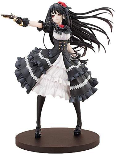 UanPlee-SC Geschenk Action Figure PVC Handspielzeug Dekoration Modell Spielzeug Anime Datum Eine Live Tokisaki Kurumi Figur Nightmare Vinyl Figur Action Figure Sammelfigur 23 cm