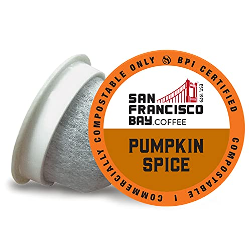 SF Bay Coffee K-Cup Pods: 80-Ct Pumpkin Spice Flavored Medium Roast $7.06 w/ S&S; 120-Ct French Roast $14.09 w/ S&S & More