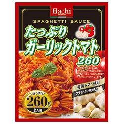 ハチ食品 たっぷりガーリックトマト260 260g×24個入