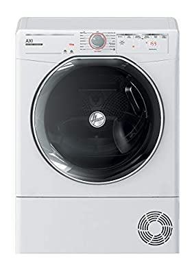 Hoover AXI ATDC10TKEX Freestanding Condensor Tumble Dryer, WiFi Connected, 10kg Load, White