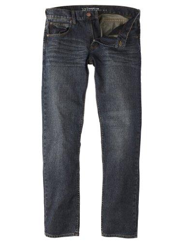 Quiksilver - Vaqueros para Hombre, tamaño 38 UK, Color Engine Azul