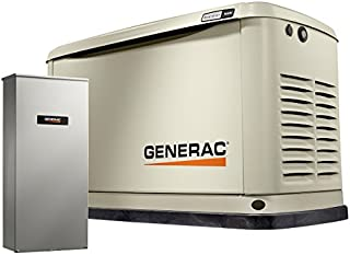Generac 70361 Home Standby Generator 16/16 kw Air-Cooled with Wi-Fi, Aluminum