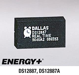 FedCo Batteries Compatible with Dallas Semiconductor DS12887 Clock Chip with Battery For Clock Memory
