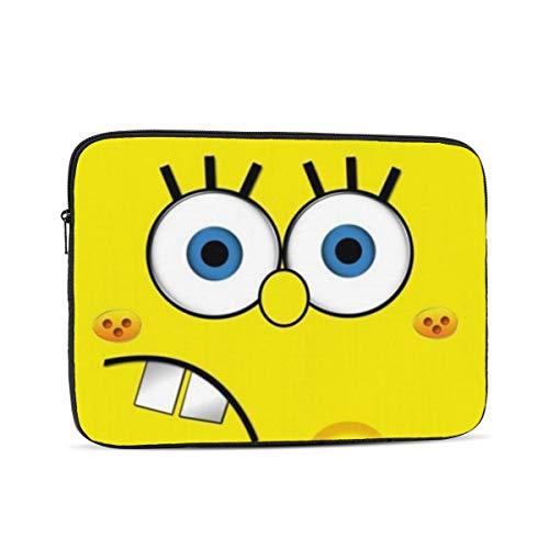 Laptop Sleeve Case- Multi Size Foam Spongebob Notebook Computer Protective Bag Tablet Briefcase Carrying Bag,13 Inch