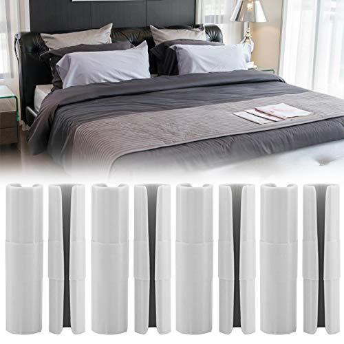 Uxsiya Clip multiusos de la hoja de cama para el hogar 8PCS (azul)