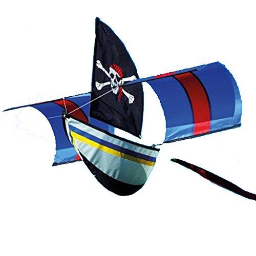 Pirat Kite. Piraten Boot Kite. Single Line einfach zu fliegen.