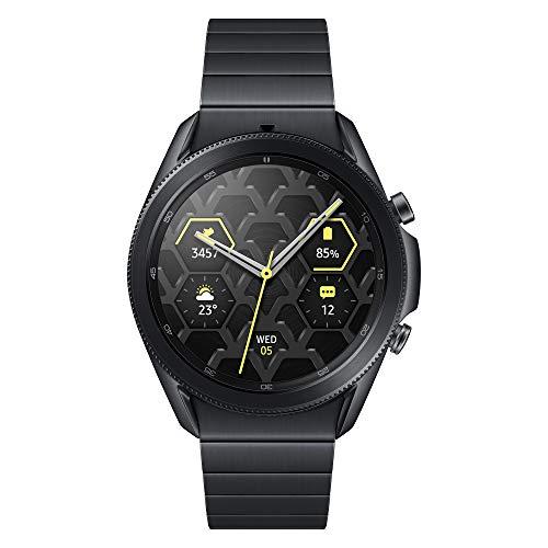 Samsung Galaxy Watch 3 Titanium 45 mm Bluetooth Smart Watch - Mystic Black (UK Version)